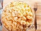 Рецепта Бърза и лесна картофена салата със сметана, горчица и лимонов сок